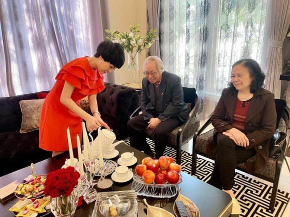 Ngày của cha, sao Việt, Diễm Hương, Lương Thùy Linh, Ngọc Khuê