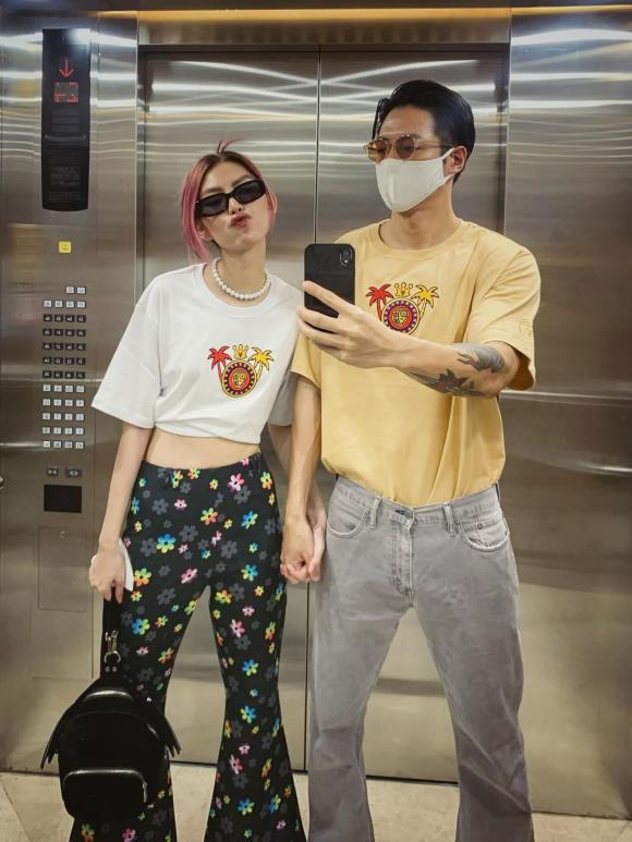 người mẫu Thùy Dương, Michael Trương, bạn trai