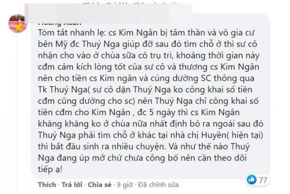 Thúy Nga, cựu ca sĩ Kim Ngân, Kim Ngân