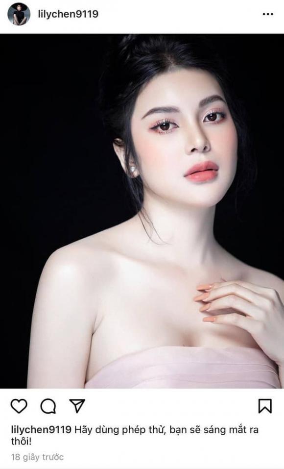 Lily Chen, Ngọc Trinh, ngọc nữ bolero, nữ hoàng nội y, bồ chung, yêu tỷ phú, sao Việt