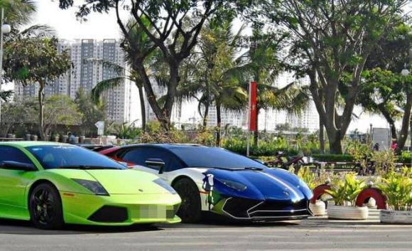 Minh Nhựa, bộ sưu tập siêu xe của Minh Nhựa, mẫu xe Lamborghini