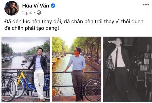 Hứa Vĩ Văn, diễn viên, ca sĩ, tạo dáng chụp ảnh, sao Việt,