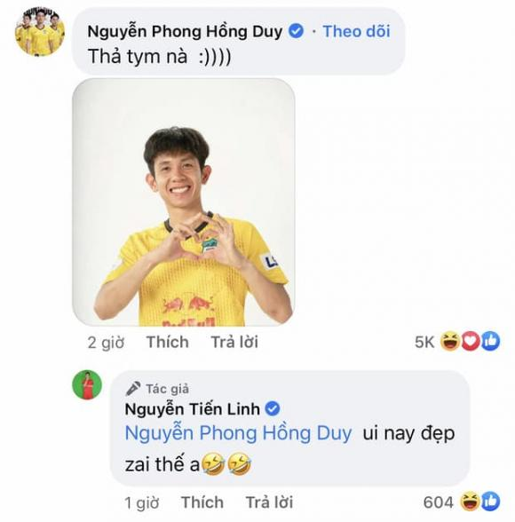 Tiến Linh, cầu thủ Tiến Linh, đội tuyển bóng đá Việt Nam
