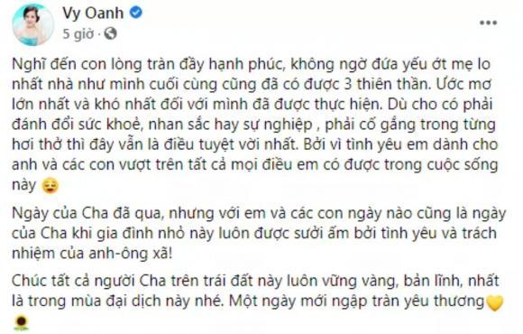 nữ ca sĩ Vy Oanh, sao Việt