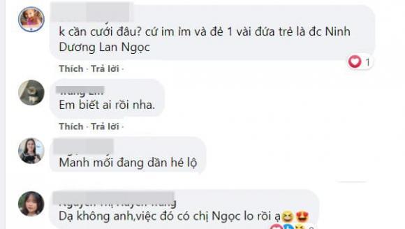 Chi Dân, Ninh Dương Lan Ngọc, sao Việt