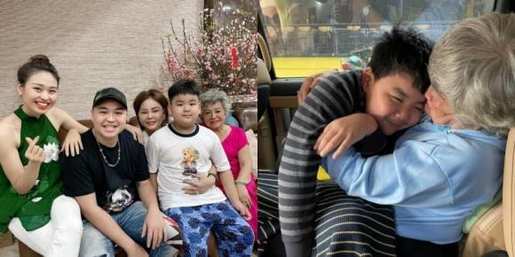 Gia đình Lê Giang đều yêu thương và cưng chiều Luke Nguyễn