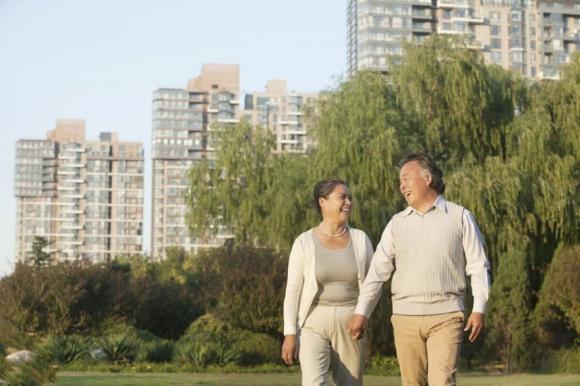 đi bộ, sức khỏe người già, người cao tuổi, tuổi thọ