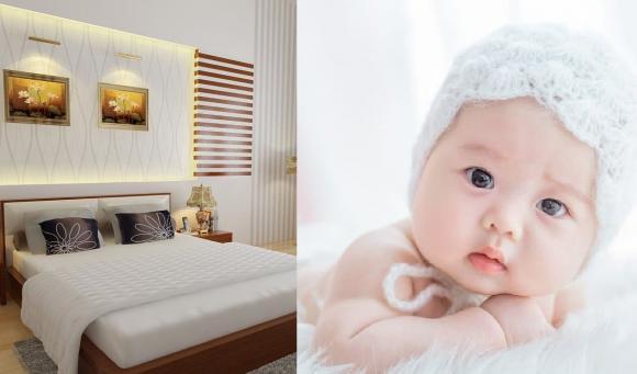 phong thủy, luộc trứng bỏ vào giường , Đặt trứng gà luộc chín dưới gầm giường, phong thủy sớm có bầu, em bé