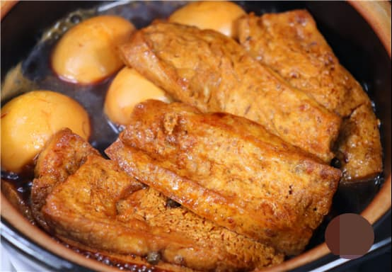 đậu kho, món đậu, đậu kho ngũ vị, dạy nấu ăn