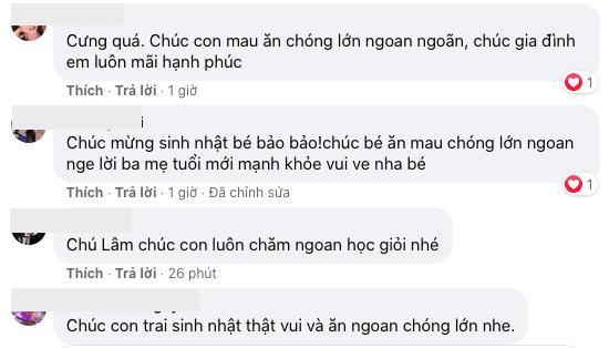 Lương Thế Thành, Thuý Diễm, sinh nhật con trai, sao Việt