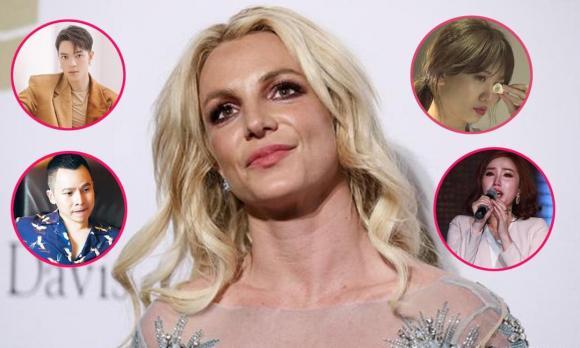 Britney Spears, sao hollywood, sao âu mỹ