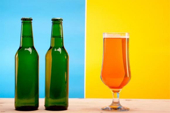 uống bia, nước uống mùa hè