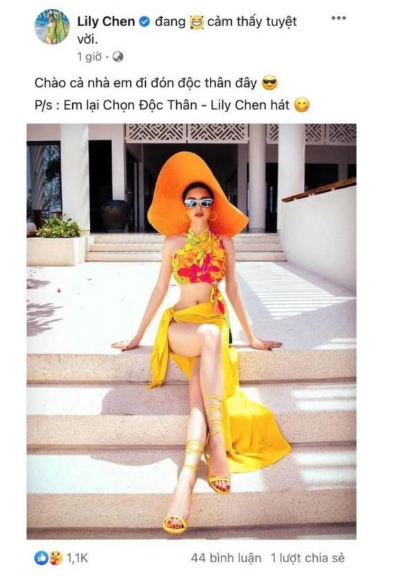 ca sĩ Lily Chen, sao Việt