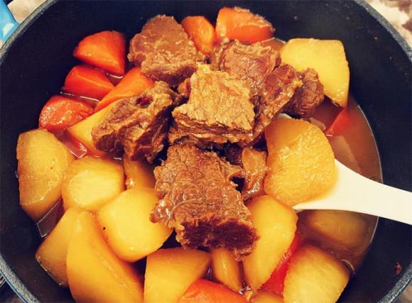 thịt bò, dạy nấu ăn, mẹo nấu ăn, bò hầm
