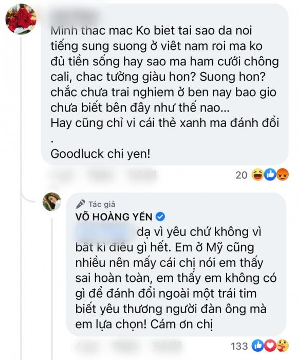 siêu mẫu Võ Hoàng Yến, sao Việt