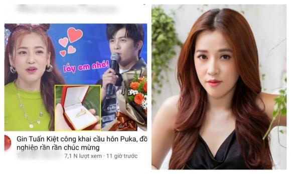 Puka, Gin Tuấn Kiệt, Hẹn hò, Sao Việt