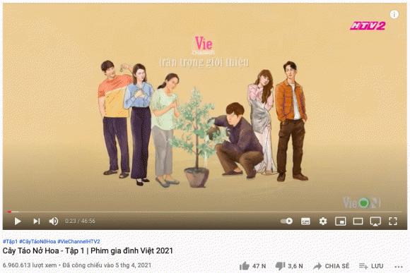 Cây táo nở hoa, tình tiết phim vô lý, Thái Hòa, Trương Thế Vinh, Nhã Phương, Song Luân, Thúy Ngân, phim việt, sao Việt