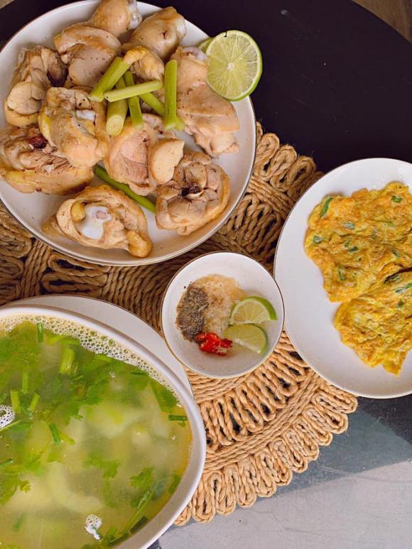 diễn viên Minh Trang, diễn viên Cây táo nở hoa, Minh Trang nấu ăn