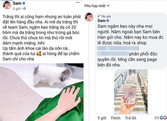 Phương Mỹ Chi, Sam, Quyền Linh, Hồng Vân, Diệu Nhi, quảng cáo, cộng đồng mạng, sao Việt