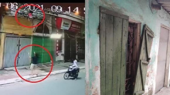 bé gái, tai nạn, đàn ông, lan can, Nam Định