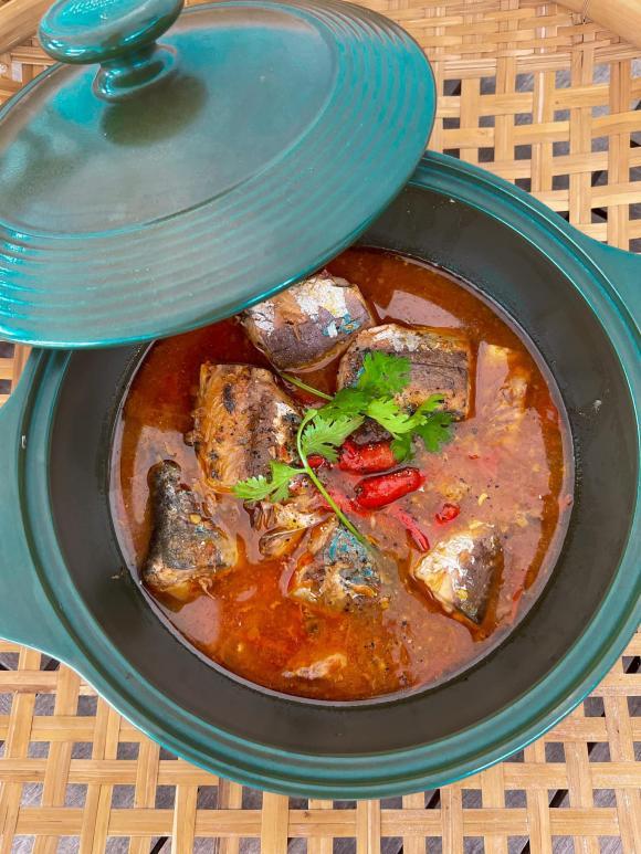 Lan Khuê, cá nục kho cà chua, món ngon từ cá nục