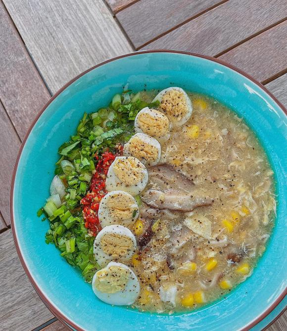 Lan Khuê, súp bắp, Lan Khuê nấu ăn