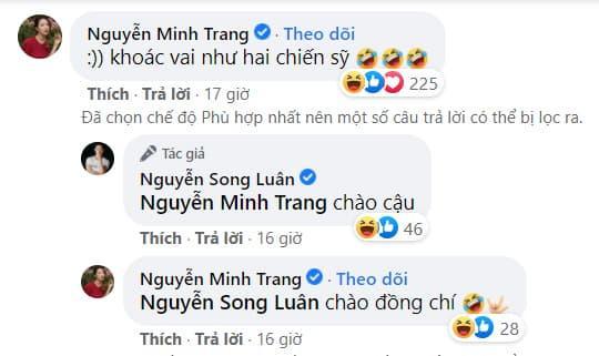 ca sĩ Song Luân, diễn viên Minh Trang, sao Việt, Cây táo nở hoa