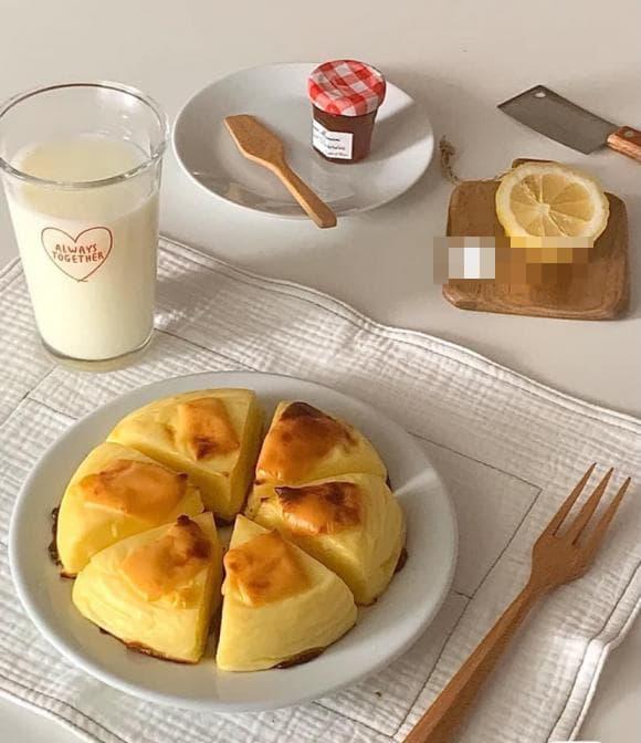 sữa nướng, bánh sữa nướng, món ngon