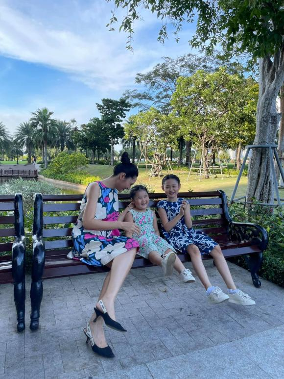 Hoa hậu Hương Giang, con gái Hoa hậu Hương Giang, sao Việt