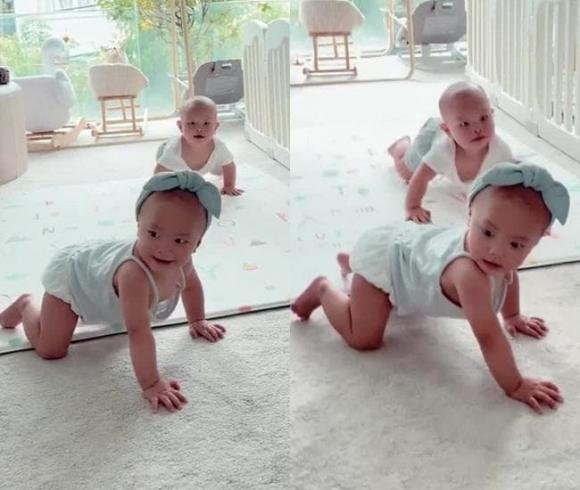 Hà Hồ, Lisa, Leon, sao Việt, cặp song sinh
