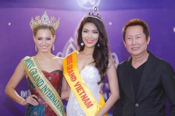 Chủ tịch Miss Grand International,hoa hậu hòa bình thế giới,covid-19
