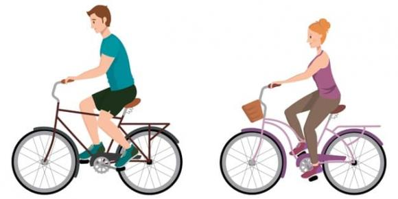 xe đạp, xe đạp nam , xe đạp nữ, sự khác biệt giữa xe đạp dành cho nam và loại xe dành cho nữ, khung xe đạp, xe đạp nam có thanh ngang, thanh ngang xe đạp, Tại sao xe đạp nam có thanh ngang