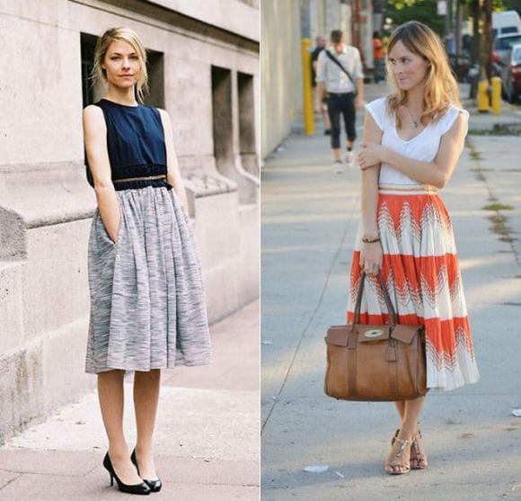 lưu ý khi mặc váy, mặc váy cần biết điều này, mặc váy đúng cách