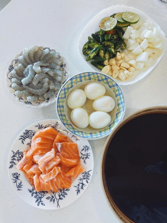 Kiên Hoàng, Kiên Hoàng nấu ăn, sao ăn gì