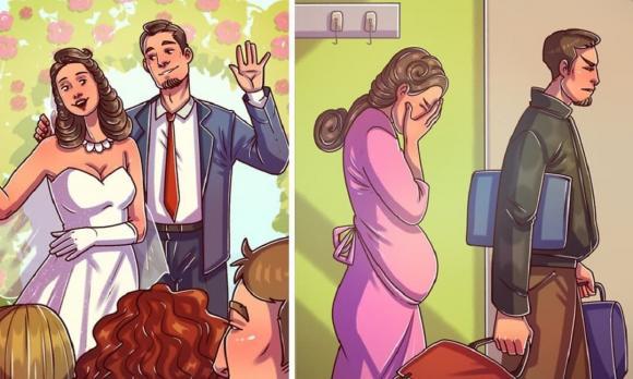 ly hôn, hôn nhân, hạnh phúc
