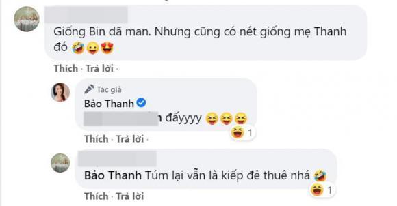 Bảo Thanh, con gái Bảo Thanh, sao Việt