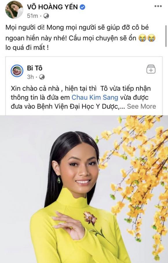 Chau Kim Sang, Ung thư, Sao Việt