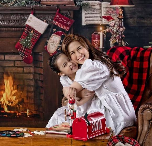 marian rivera, con gái marian rivera, bé zia, đồ đôi, mỹ nhân đẹp nhất philippines