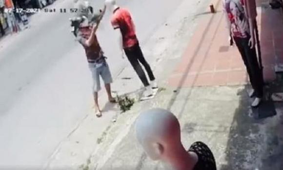 Nam Từ Liêm, Hà Nội, cướp xe máy, công nhân môi trường
