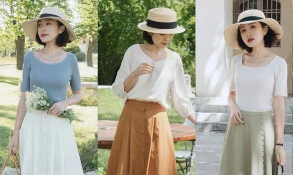 váy dài, mặc đẹp, thời trang mùa hè