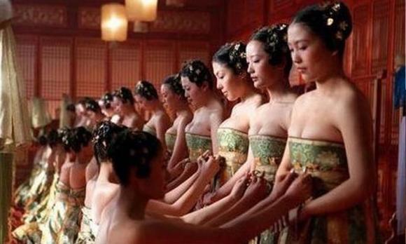 phi tần, cung nữ, cung nữ kết hôn, cung nu, cung nữ rời cung