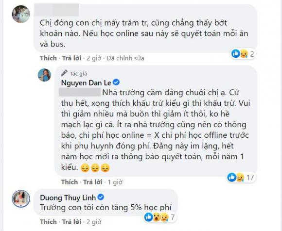 Đan Lê, con của Đan Lê, sao Việt, trường quốc tế