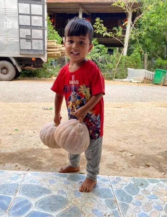 Quảng Trị, bé trai, chống dịch Covid-19, từ thiện