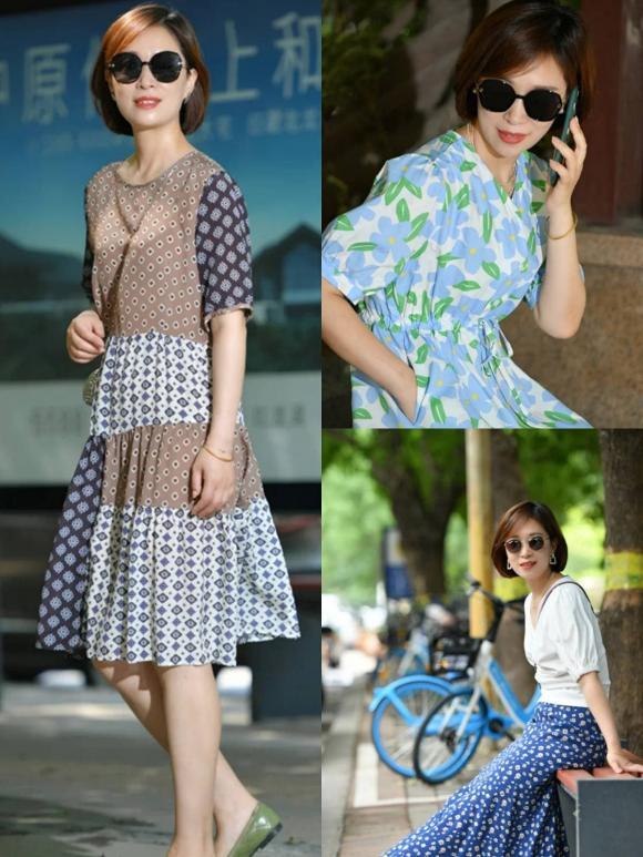 thời trang trung niên, tuổi 50, thời trang hè