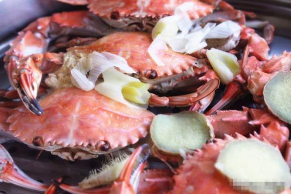 hấp cua, hấp ghẹ, hải sản, dạy nấu ăn, mẹo nấu ăn