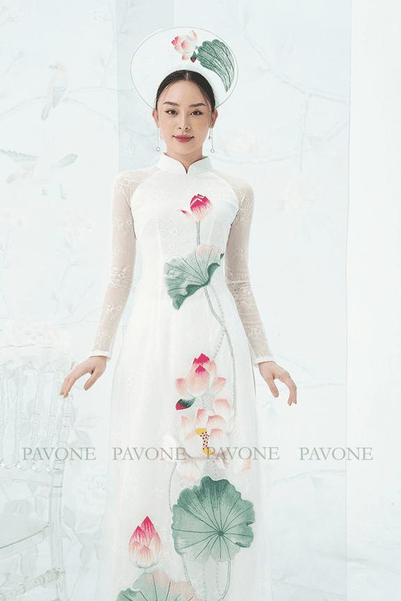Pavone, áo dài, Lê Phương