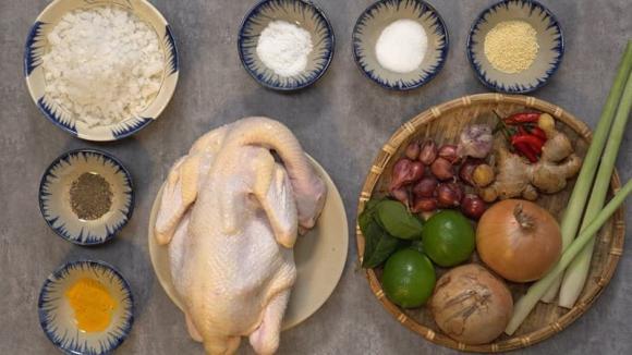 gà ủ muối, nấu ăn, món ngon