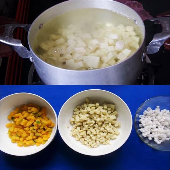 nấu chè, chè khoai môn, dạy nấu ăn, mẹo nấu ăn