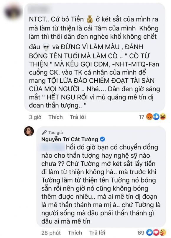 MC Cát Tường, diễn viên Cát Tường, sao Việt