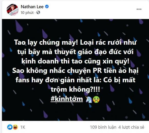 Nữ hoàng nội y ngọc trinh,Ca sĩ Nathan Lee,nam ca sĩ nathan lee, sao Việt